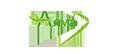 Логотип компании Окна Алма