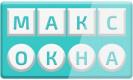 Логотип компании Макс Окна